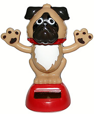 Dancing Dog Solar Powered Animated Ornament Figurine Decorative Item Home or Car