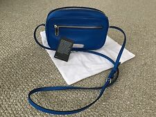 Marc By Marc Jacobs New Leather Blue Silver Sally Crossbody Bag
