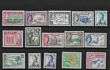 Fiji 1954/9 set mm