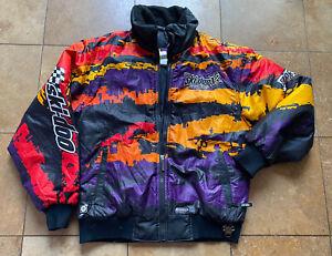 VTG 90S Ski-Doo Team Racing Snowmobile Muti Colored Jacket Men/Adult S