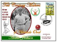 ADELAIDE OVAL TEST CENTURY's CRICKET COVER, JACKSON