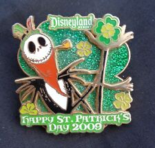 Disney Nightmare NBC Happy St. Patrick's Day Jack Skellington 2009 LE Pin