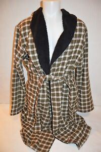 UGG Australia Man's KALIB Plaid Robe NEW Size Large/X-Large  Retail $165