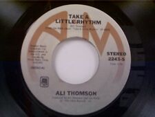 "ALI THOMSON ""TAKE A LITTLE RHYTHM / JAMIE"" 45 NEAR MINT"