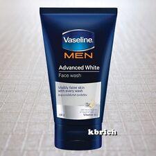 100 g. Vaseline Men Advance White Foam Face Wash Visibly Fairer ( 1x100 grams .)