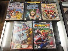 Mario LOT Nintendo Gamecube 5 Games