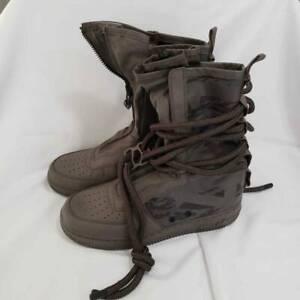 Nike Womens SF Air Force 1 High Ridgerock Sneaker Camouflage AA1128-203 9.5 New
