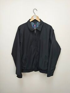 CHAPS Ralph Lauren Lightweight Harrington Jacket - Black - Large - L