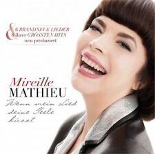 MIREILLE MATHIEU - WENN MEIN LIED DEINE SEELE KÜSST  CD 14 TRACKS SCHLAGER NEUF
