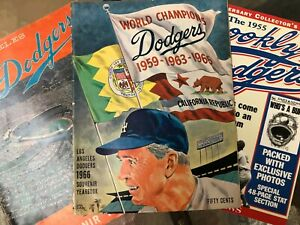 LA Dodgers 1965 and 1966 Yearbooks / Daily News 40th Anniv. Collectors edition
