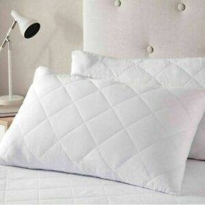 New Hotel Quality Luxury Jumbo Bounce Back Pillows Ultra-Loft Super Pack Of 2