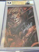 Venom #27 CGC 9.8 SIGNED Jonboy Meyers Virgin 1st Codex Unmasked Cover