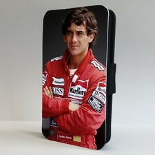 Ayrton Senna Formula One F1 Teléfono Abatible leyenda Estuche Cubierta para iPhone Samsung