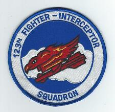 90s 123RD FIGHTER INTCP SQUADRON patch