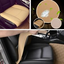 1pcs Beige Car Seat Protector Pad /Cover 53cm * 54cm  PU leather,bamboo charcoal