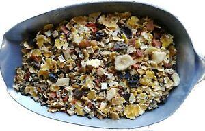 Barf Gemüsemischung, Flocken aus Mais, Gerste, Obst, Gemüse, Kräutern zu Fleisch