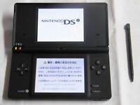 X4617 Nintendo DSi console Black Japan w/stylus pen