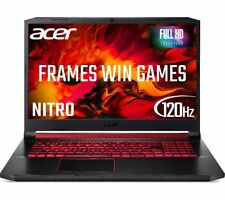 "ACER Nitro 5 AN517 17.3"" 120hz Gaming Laptop Intel 6 Core i7 RTX 2060 256 GB SSD"