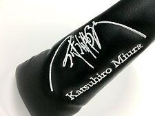 MIURA GOLF KATSUHIRO MIURA SIGNATURE LIMITED EDITION PUTTER HEADCOVER 1 OF 200