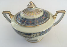 Thomas China Bavaria QUEEN LOUISE - 2-HANDLED LIDDED SUGAR BOWL