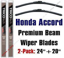 1994-1997 Honda Accord Wiper Blades 2-Pack Premium Beam Blades 19240+19200