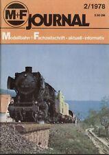 rivista M+F Journal Merker+Fischer 2/1978    bb