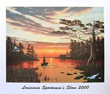 Louisiana Sportsmen's Show '00 by John Akers (Signed & Numbered)