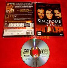 SINDROME CINESE (J. Lemmon, J. Fonda, M. Douglas) Dvd Super Jewel Box USATO ET
