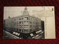 1907. DONALDSON'S GLASS BLOCK. MINNEAPOLIS, MINN POSTCARD D1