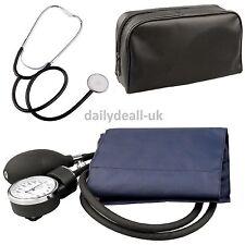 Aneroid Nylon Cuff Sphygmomanometer And Stethoscope Blood Pressure Monitor Meter