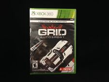 Grid Autosport: Limited Black Edition  (Xbox 360, 2014)