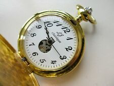 pocket watch ~ running Classique huntercase manual wind modern