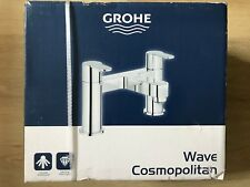 Grohe Wave Cosmopolitan Two Handled Bath Filler Tap 25146001 Chrome, New, Sealed