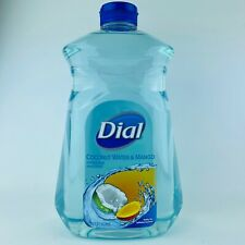 Dial Coconut Water & Mango Hydrating Hand Soap Big Refill Bottle 52 Fl.oz New