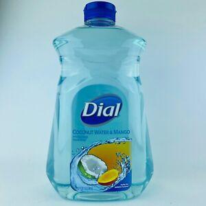 Dial Coconut Water & Mango Hydrating Hand Soap Big Refill Bottle 52 Fl.oz New
