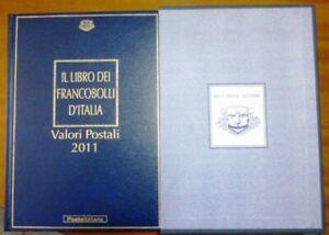 LIBRO POSTE ITALIANE BUCA DELLE LETTERE 2011 COMPLETO DI TUTTI I FRANCOBOLLI