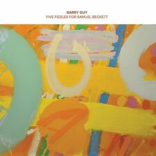 Barry Guy solo -Five Fizzles For Samuel Beckett- NEW 10'' EP NoBusiness Records