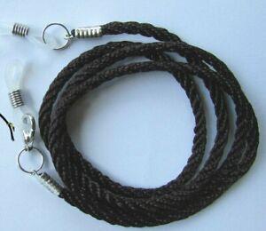 "Dark Brown  Eye / sun Glasses  lanyard 24"" (61cm)   Cord"