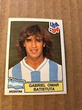 PANINI BATISTUTA GABRIEL USA 94 WORLD CUP 1994 ARGENTINA STICKER RARE