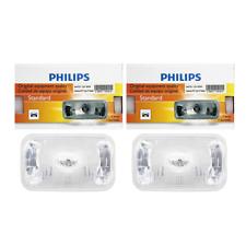 2 PCS Philips Headlight Bulb For 1986-1988 Buick Century High Beam Lamp