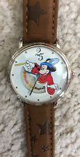 Walt Disney World 25th Anniversary Fantasia Sorcerer Mickey Mouse Animated Watch
