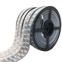 Double Row RGB LED Strip Waterproof 5050 120LEDs/m 5M DC12V 24V Led Strip Light