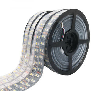 Double Row RGB LED Strip Waterproof 5050 120LEDs/m 5M DC12V 24V Led Strip Light