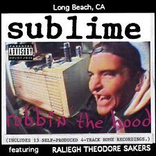 SUBLIME Robbin the Hood BANNER HUGE 4X4 Ft Fabric Poster Tapestry Flag album art