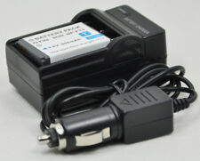 Battery+Charger for Sony NP-FT1 Cyber-shot DSC-L1 M1 M2 T1 T3 T5 T9 T10 T11 T33