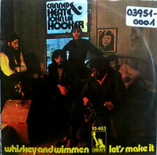 "7"" 1971 RARE VG+! CANNED HEAT & JOHN LEE HOOKER : Whiskey & Wimmen"