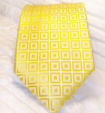 Cravate ,or, NOUVEAU, 100% soie , Made in Italy , fait à la main , Morgana