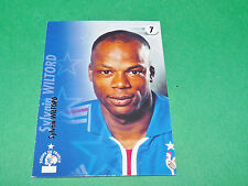 SYLVAIN WILTORD EQUIPE FRANCE BLEUS PANINI FOOTBALL CARD 2002