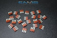 100 PACK ATL 7.5 AMP FUSE BLADE DUAL CIRCUIT COOPER BUSSMAN MICRO 3 LEG ATL7.5