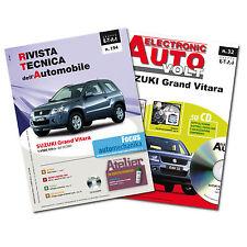 1 Manuale riparazione/manutenzione + 1 Manuale Diagnosi auto Suzuki Grand Vitara